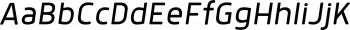 Anteb Semi Light Italic mini