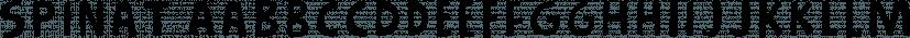 Spinat font family by Bogstav