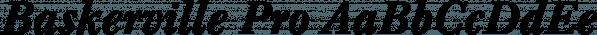 Baskerville Pro font family by SoftMaker