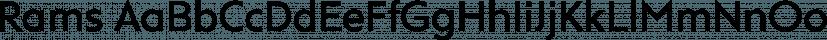 Rams font family by TipografiaRamis