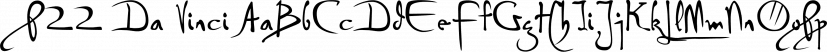 P22 Da Vinci font family by P22 Type Foundry