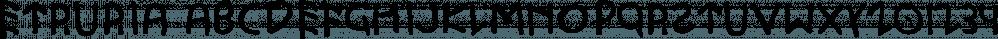 Etruria font family by Dima Pole