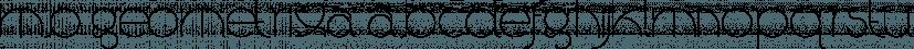 MB GEOMETRIXA font family by Ben Burford Fonts