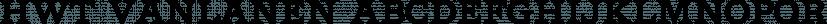 HWT Vanlanen font family by Hamilton Wood Type