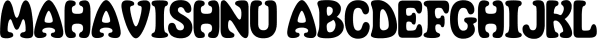 Mahavishnu font family by Typodermic Fonts Inc.