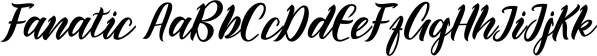 Fanatic font family by Genesislab