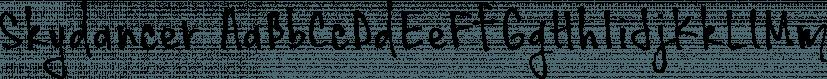 Skydancer font family by Brittney Murphy Design