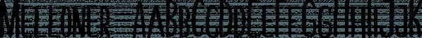 Melloner  font family by Alit Design