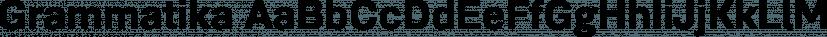 Grammatika font family by Aleksandr Sukiasov