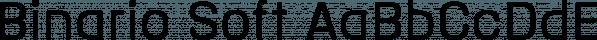 Binario Soft font family by Tarallo Design