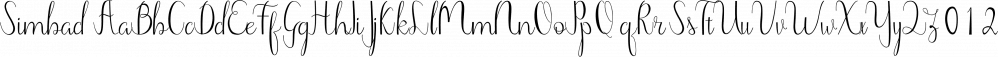 Simbad font family by RtCreative