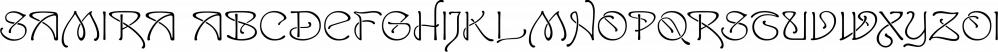 Samira font family by CastleType
