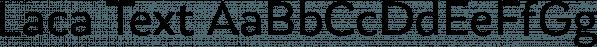 Laca Text font family by Nova Type Foundry