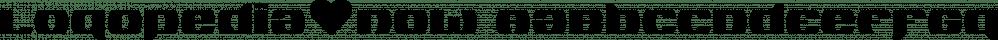 Logopedia Now font family by Bülent Yüksel