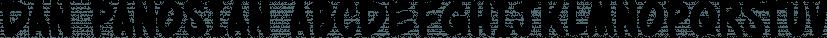 Dan Panosian font family by Comicraft
