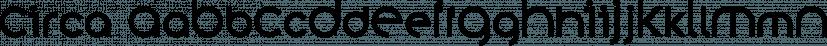 Circa font family by K-Type