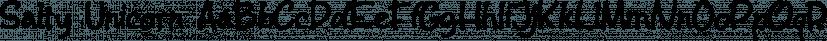 Salty Unicorn font family by Letterhend Studio