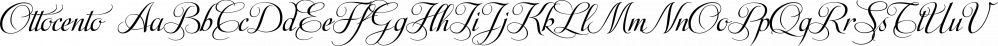 Ottocento font family by Eurotypo