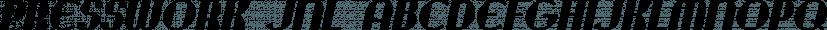 Presswork JNL font family by Jeff Levine Fonts