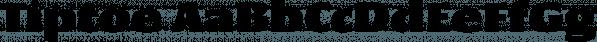 Tiptoe font family by KLTF