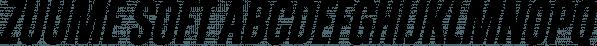 Zuume Soft font family by Adam Ladd