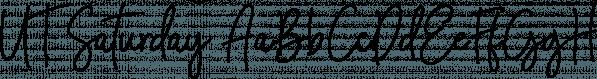 UT Saturday font family by Uniontype
