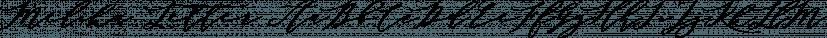 Melika Letter font family by Jrohcreative