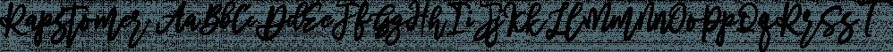Rapstomer font family by Dhan Studio