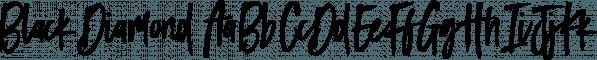 Black Diamond font family by Set Sail Studios