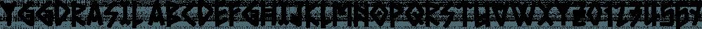 Yggdrasil font family by Bogstav