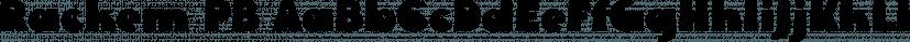 Rackem PB font family by Pink Broccoli