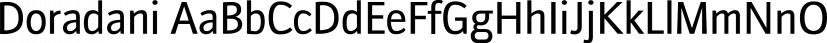 Doradani font family by Typodermic Fonts Inc.