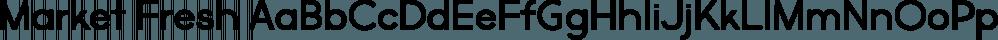 Market Fresh font family by Brittney Murphy Design