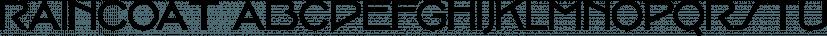 Raincoat font family by Typodermic Fonts Inc.
