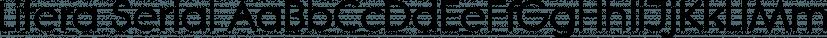 Litera Serial font family by SoftMaker