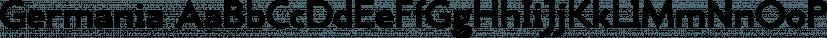 Germania font family by Wiescher-Design
