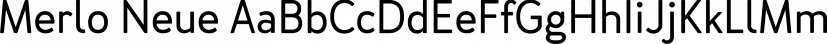 Merlo Neue font family by Typoforge Studio