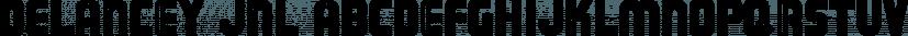 Delancey JNL font family by Jeff Levine Fonts