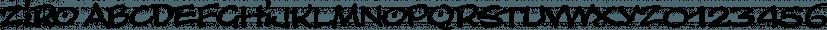 Ziro font family by Wilton Foundry
