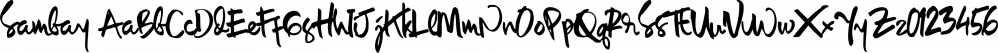 Sambay font family by Incools Design Studio