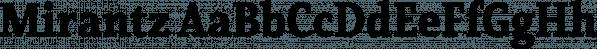 Mirantz font family by Insigne Design