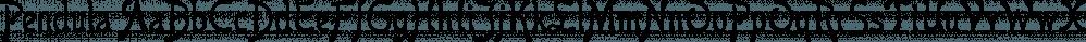 Pendula font family by Liberty Type Foundry