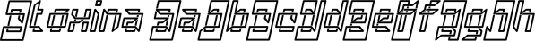 Atoxina font family by FSdesign