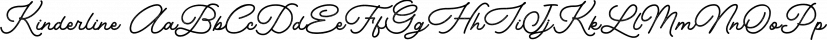 Kinderline font family by Letterhend Studio