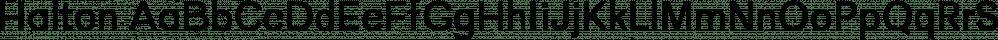 Halton font family by Cappello Designs
