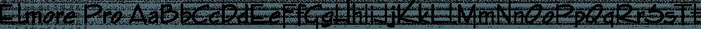 Elmore Pro font family by SoftMaker