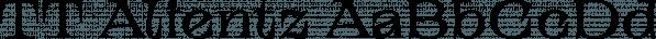 TT Alientz font family by TypeTrends