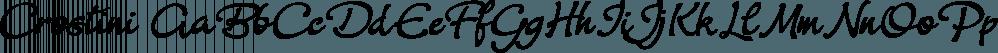 Crostini font family by Scholtz Fonts