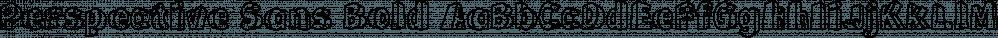Perspective Sans Bold font family by Bülent Yüksel