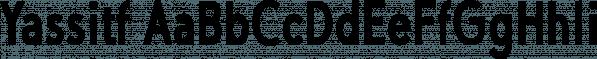 Yassitf font family by Ingrimayne Type